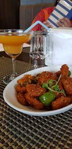 Spicy Stir fried water chestnuts
