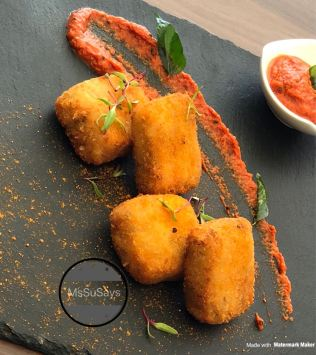 Desi Curd Poppers